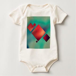 Cubed In Surrealism Baby Bodysuit