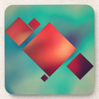 Cubed In Surrealism Coaster