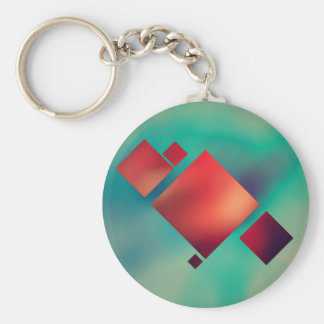 Cubed In Surrealism Key Ring
