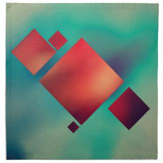 Cubed In Surrealism Napkin