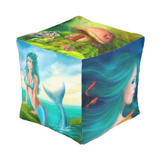 Cubed Pouf  Fantasy