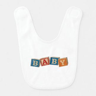 Cubes Baby Bib