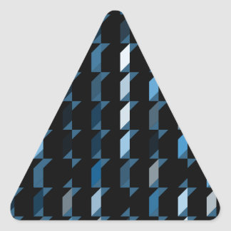 cubes-blue-05 triangle stickers