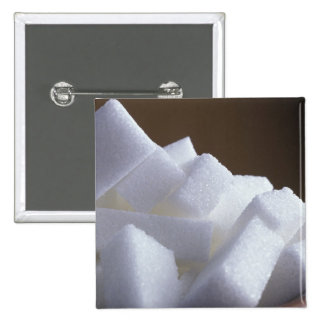 Cubes of white sugar For use in USA only.) 15 Cm Square Badge