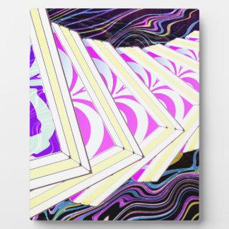Cubes Plaque