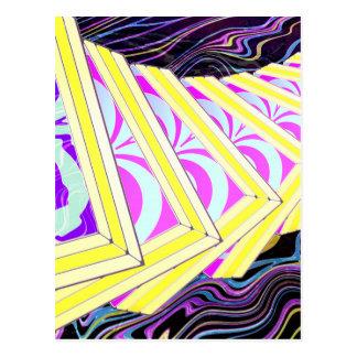 Cubes Postcard