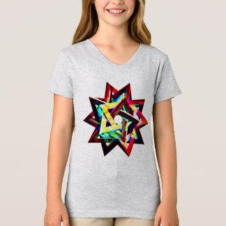 cubes squares shapes t-shirt design