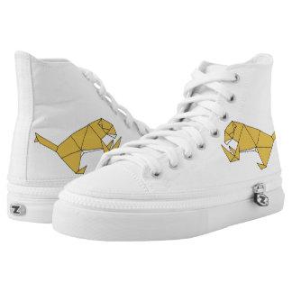 Cubic Lion High Tops Shoes