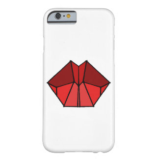 Cubic Lips Red Shades Phone Case Cover