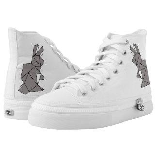 Cubic Rabbit High Tops Shoes