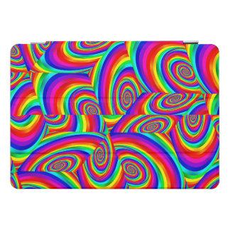 Cubic Rainbow Fractal Ipad Cover