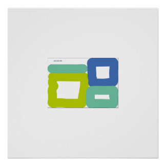 cubic row poster