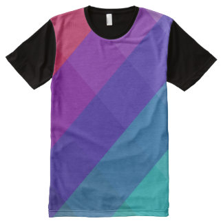 Cubical Colors All-Over Print T-Shirt