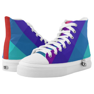 Cubical Colors High Tops