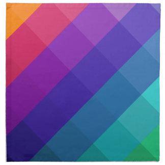Cubical Colors Napkin