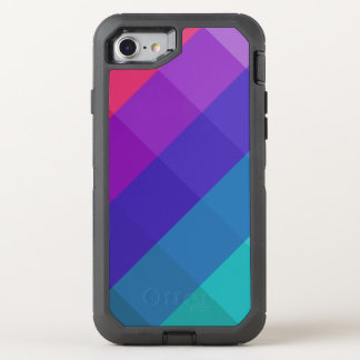 Cubical Colors OtterBox Defender iPhone 8/7 Case