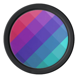 Cubical Colors Poker Chips