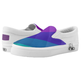 Cubical Colors Slip On Shoes