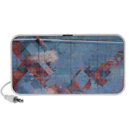 Cubik clouds blues travelling speakers