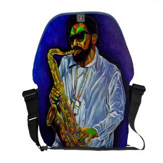 Cubism Musician Bag Messenger Bag