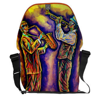 Cubism Musician Bag Messenger Bags