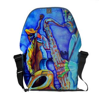Cubism Musicians Bag Courier Bag