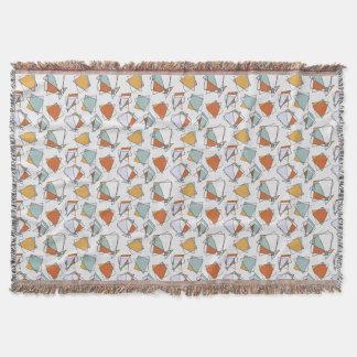 Cubist Pattern Blanket