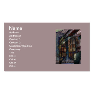 Cubist Shutters, Doors & Windows Pack Of Standard Business Cards