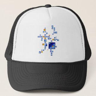 Cublerossia V1 - falling cubes Trucker Hat