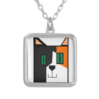 CuboCat - Razi Silver Plated Necklace