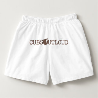Cubs Out Loud Logo V3 Underwear Boxers