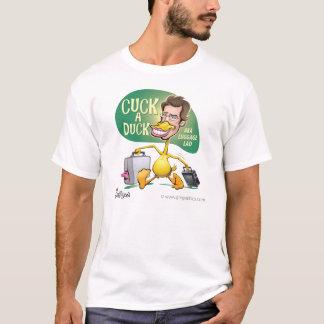 Cuck a Duck cartoon by Ben Garrison T-Shirt