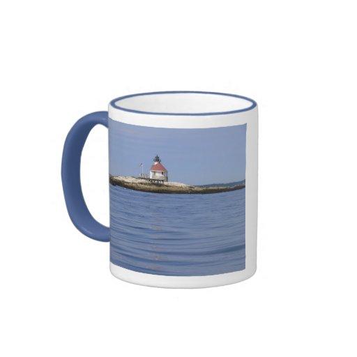 Cuckolds Lighthouse Mug-Maine