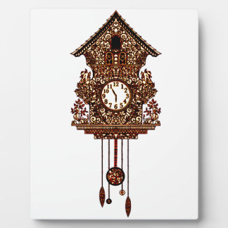 Cuckoo Clock 2 Plaque