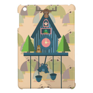 Cuckoo Clock with Turtle Wall paper Cover For The iPad Mini