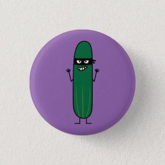 Cucumber Bandito Ninja Masked Sneaky Bandit 3 Cm Round Badge