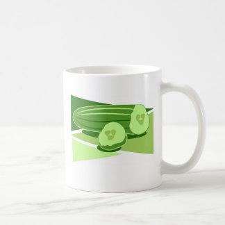 Cucumber Basic White Mug