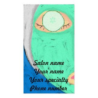 Cucumber Mask Business Card