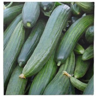 cucumber napkin
