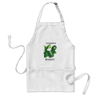 Cucumber Seed Packet Label Standard Apron