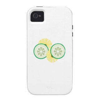 Cucumbers Flowers iPhone4 Case