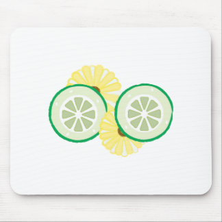 Cucumbers Flowers Mouse Pads