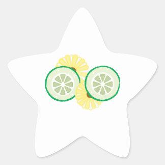 Cucumbers Flowers Sticker