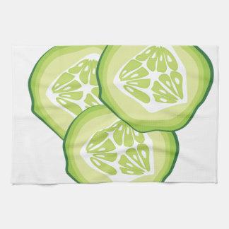 Cucumbers Hand Towels