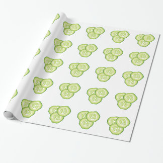 Cucumbers Wrapping Paper