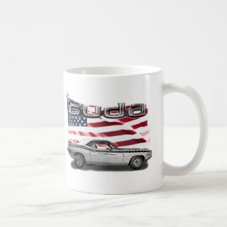Cuda Muscle Car Coffee Mug