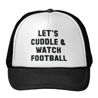 Cuddle And Football Cap