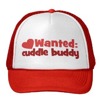 Cuddle Buddy Wanted Cap