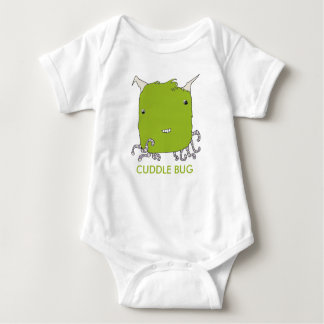 Cuddle Bug - Lime Baby Bodysuit