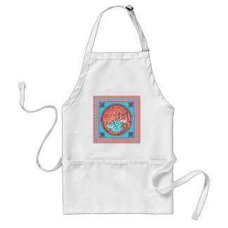 Cuddle Cats Long Apron